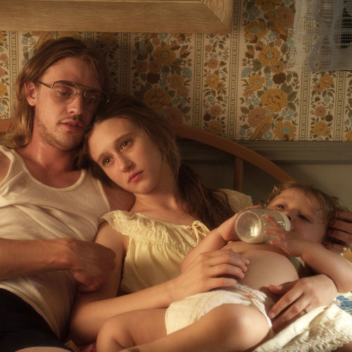 Teens Ethan and Corrine (Boyd Holbrook and Taissa Farmiga) wed after Corrine gets knocked up.
