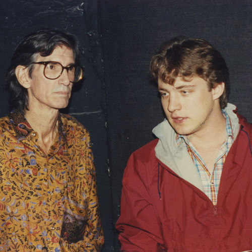 Townes and me, Nashville, 1992: When he wasn't teasing me, he tended to get bored.
