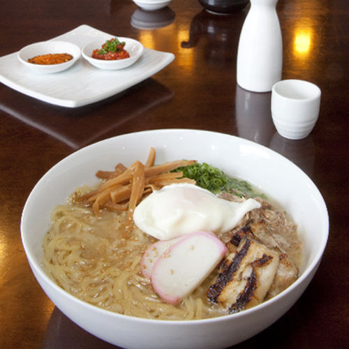 The ramen isn't traditional, but it's remarkable.
