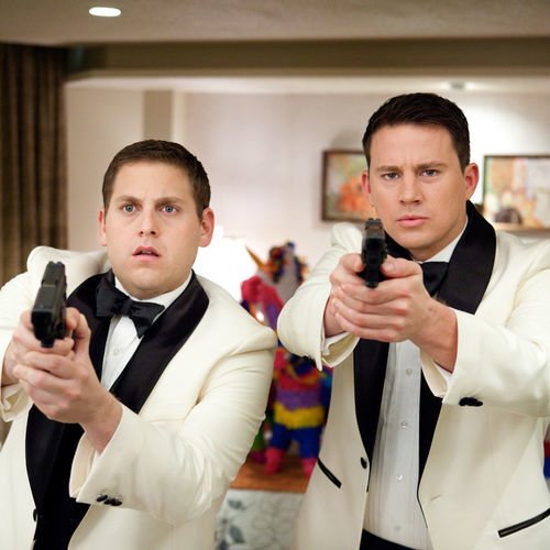These mismatched cops (Jonah Hill and and Channing Tatum) bounce well off each other.