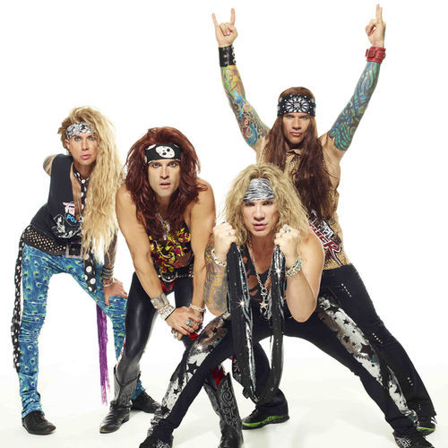 Steel Panther will scratch your '80s-metal itch...just watch your girlfriends.