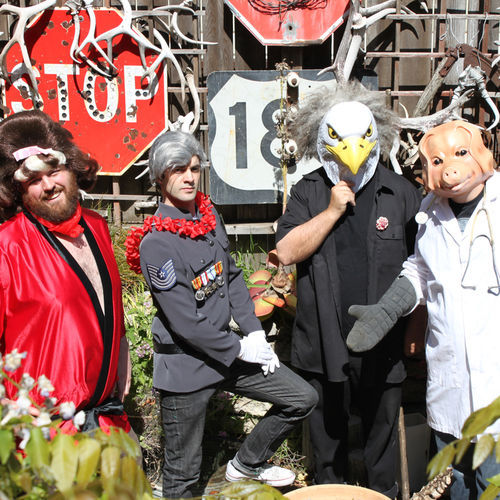The Melvins made a record for free and picked up some nifty animal masks to boot.