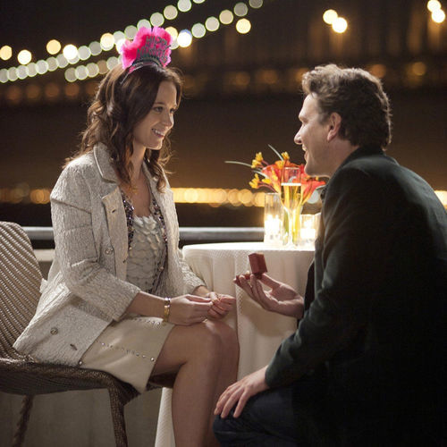 The conclusion of The Five-Year Engagement, with Emily Blunt and Jason Segel, is preordained.