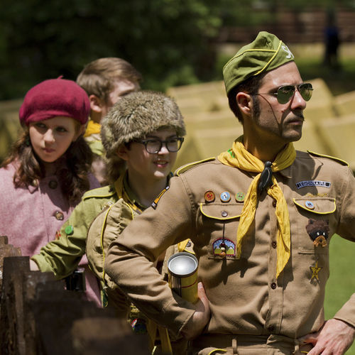 Wes Anderson regular Jason Schwartzman plays a know-it-all fixer.