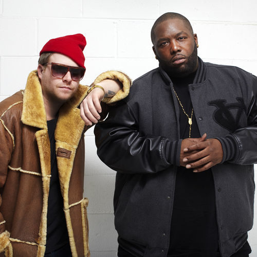 El-P, left, and Killer Mike connected over the records both loved as kids.