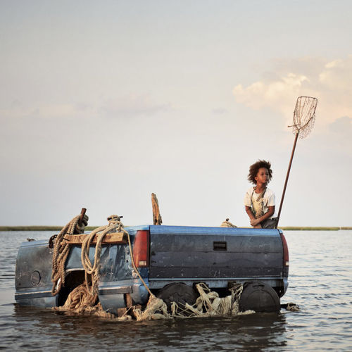 Quvenzhané Wallis as Hushpuppy.