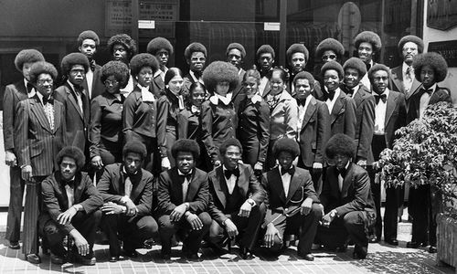 The Kashmere Stage Band during a 1975 tour of Japan.