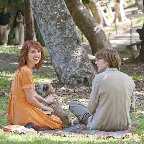 Calvin (Paul Dano) writes — and so creates — his dream girl (Zoe Kazan).