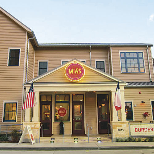 Mia's is already popular with families.