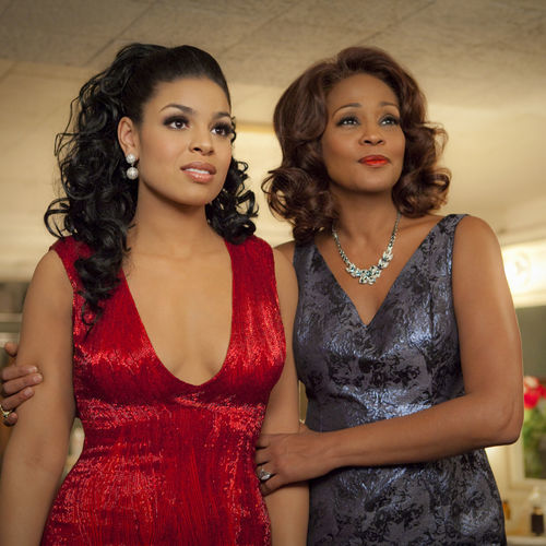 Jordin Sparks and Whitney Houston in SPARKLE.