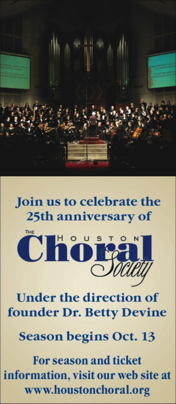 Houston Choral Society