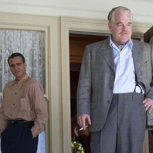 Joaquin Phoenix and Philip Seymour Hoffman star in Paul Thomas Anderson's most elusive film to date.