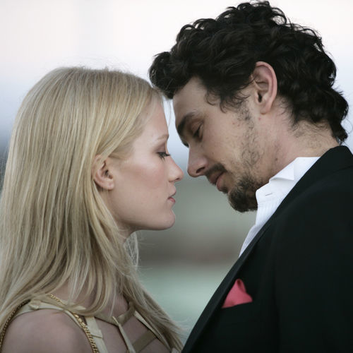 Ashley Hinshaw as Angelina and James Franco as Francis in Stephen Elliott's About Cherry.