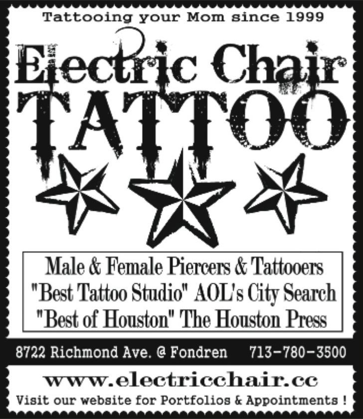 Electric Chair Tattoo & Piercing