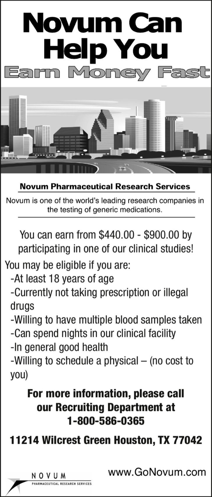 Novum Pharmacuetical