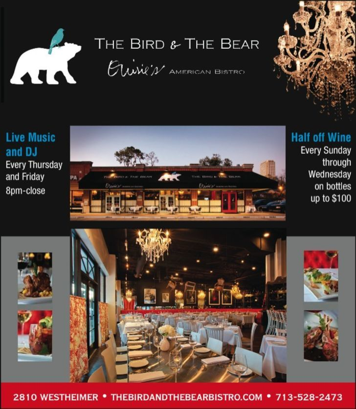 The Bird and the Bear Bistro
