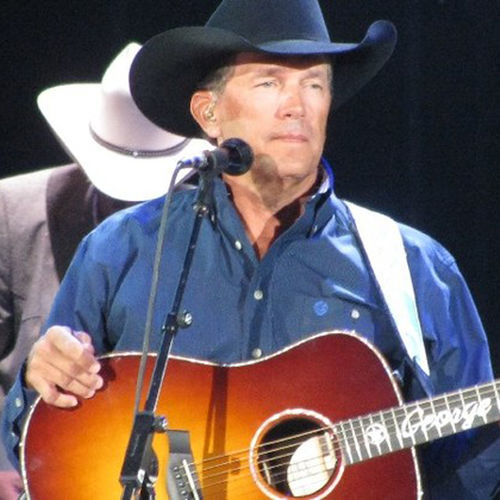 George Strait at Reliant Stadium, 2009.