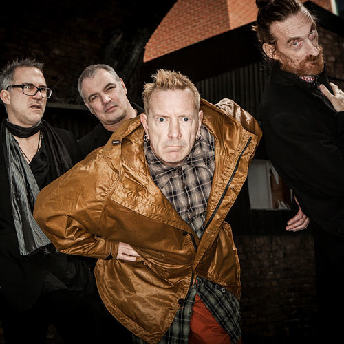 John Lydon (center) and his merry pranksters are back with Public Image Ltd.'s first album in 20 years.
