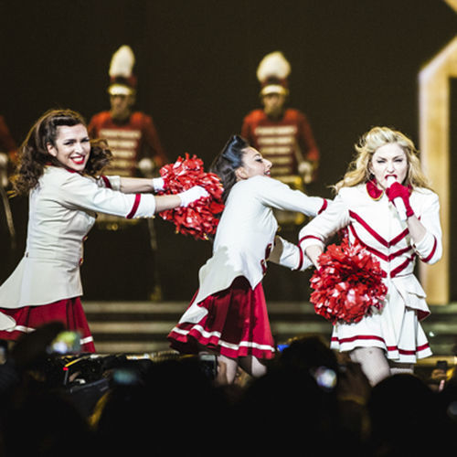 Every cent of Madonna's steep ticket prices showed up onstage last Wednesday.