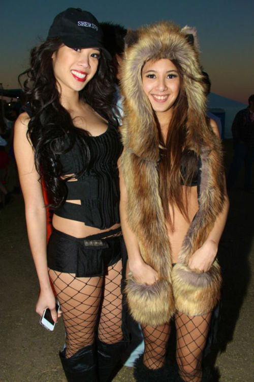 Costumes abounded at Something Wicked.
