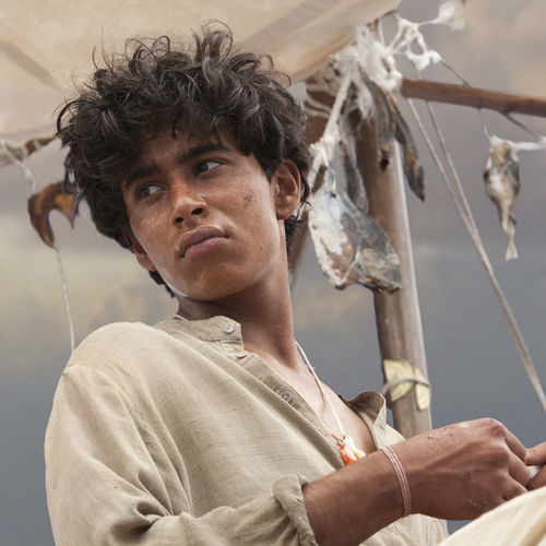 Suraj Sharma in Life of Pi