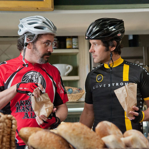 Robert Smigel stars as Barry and Paul Rudd (right) stars as Pete.