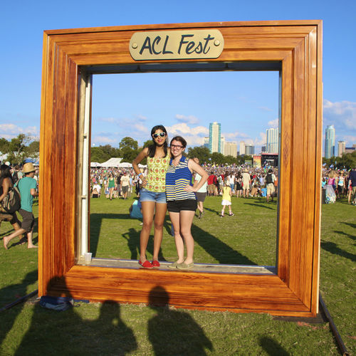 Austin City Limits fans make a memory at last year's Zilker festival.