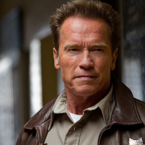 Arnold as Ray Owens in  The Last Stand.