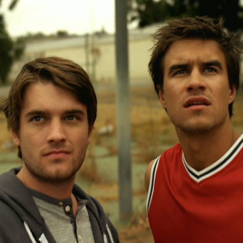 Chase Williamson (Dan) and Rob Mayes (John) star in the new Comedy/Horror film.