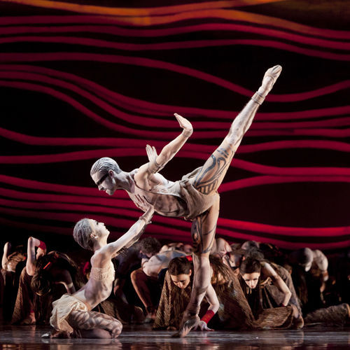Nozomi Iijima and Joseph Walsh in The Rite of Spring.