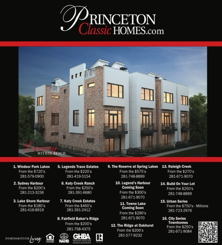 Princeton/Legend Homes