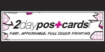 1000 Full Color UV Coated Bus cards $39