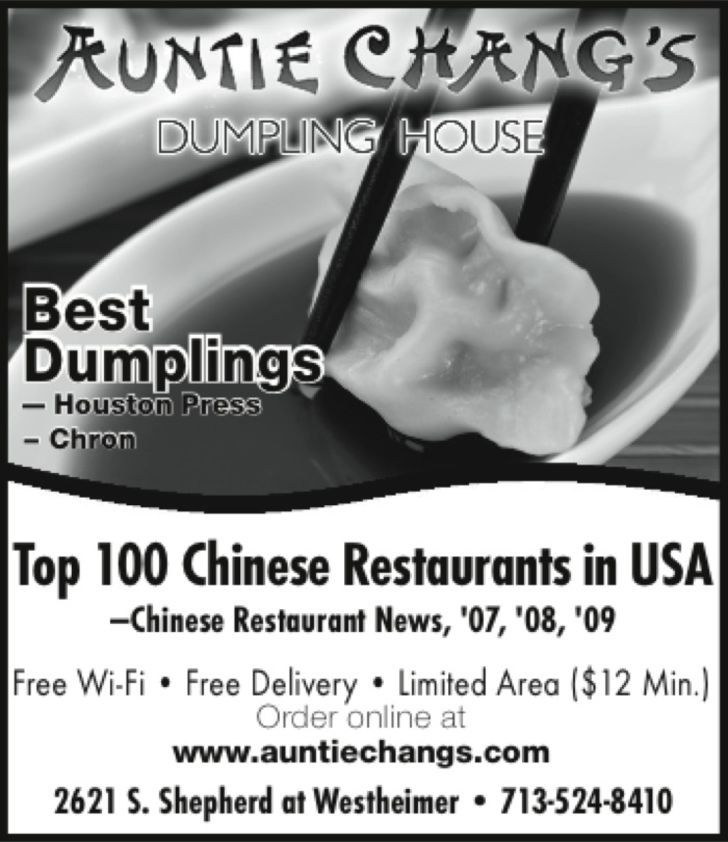 Auntie Chang's Dumpling House