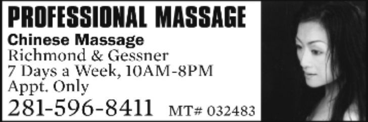 Have an energizing massage!