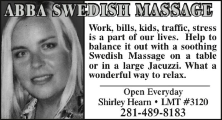 Abba Swedish Massage