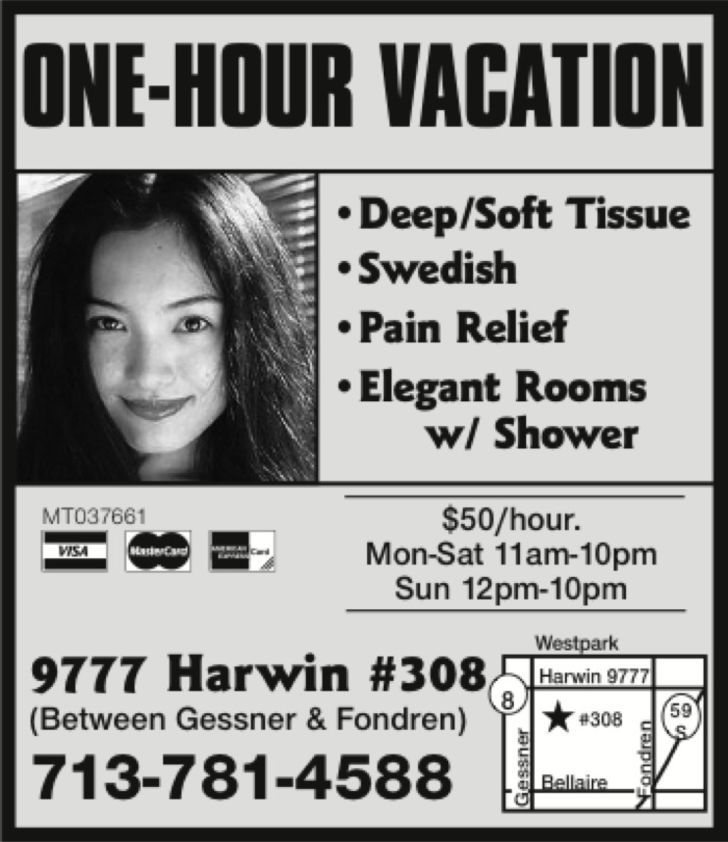 One-Hour Massage