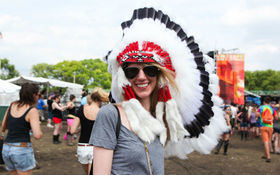 Thumbnail for 40 Ridiculous People in Headdresses at Music Festivals