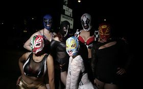 Thumbnail for Masked Mayhem: Lucha Jello Wrestling At Outlaw Dave's