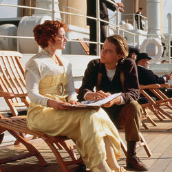 Titanic will float or sink on the enduring charisma of its stars, Kate Winslet and Leonardo DiCaprio.