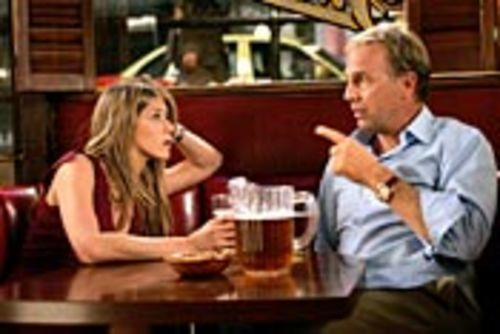 Sarah (Jennifer Aniston) thinks Beau (Kevin Costner)  might be her dad. Then she sleeps with him.