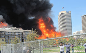 Thumbnail for Montrose Apartment Complex Goes Up in 4-Alarm Blaze