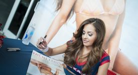 The Houston Texans Cheerleader 2014 Swimsuit Calendar Signing