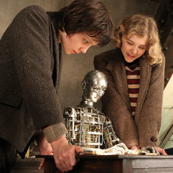 Hugo (with Asa Butterfield and Chloë Moretz) is really about the history of film.