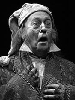 Miser to wiser: James Belcher gets the audience 
