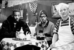 GZA, RZA and Bill Murray play variations of 