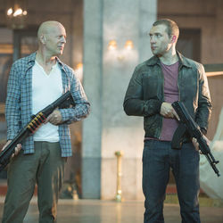 John McClane (Bruce Willis) finally brings his son (Jai Courtney) into the franchise.