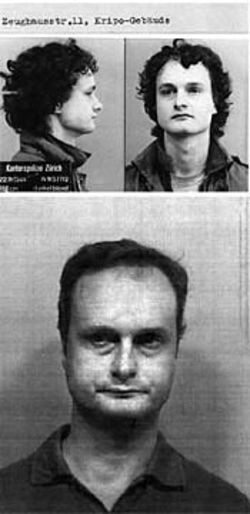 Twenty years after escaping from Swiss custody, Hanspeter Bieri (shown above in his Harris County mug shot) was arrested again.