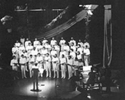 Carolers at a leather bar created the choir, which first performed in 1980.
