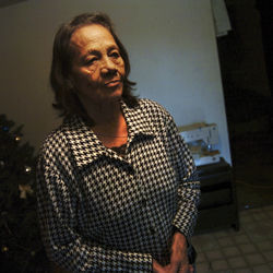 Delia Del Valle, who has cancer that she believes was caused by air pollution, wants desperately to move out of her industrial neighborhood not far from Houston's downtown.