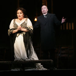 Patricia Racette is a perfect fit with the role of Tosca.